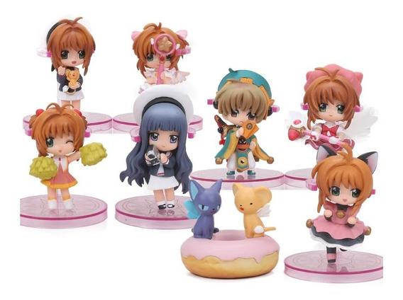 Sakura Card Captor Figuras Set D 8 Caja Set Completo