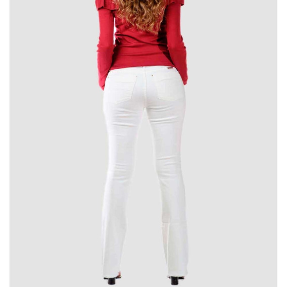 Calca Fem Ana Alice Bronze Jeans