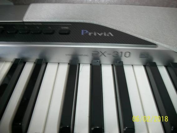 Piano Casio Privia Px-310 Como Nuevo.