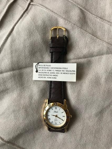 Reloj Elegante Steelco Nuevo