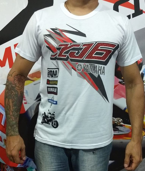 Camiseta Yamaha Xj6