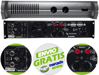 Potencia Amplificador American Pro Apxii 300 Ampro - Cuotas