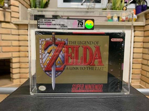 Zelda Vga 75 Snes Lacrado Super Nintendo