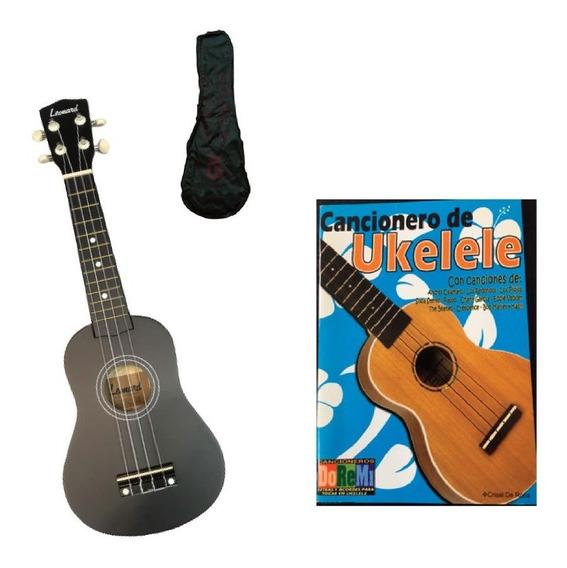 Ukelele Soprano Ukulele Leonard Uk5 Funda Cancionero Colores