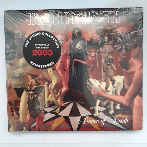 Iron Maiden Dance Of Death Cd Nuevo Musicovinyl