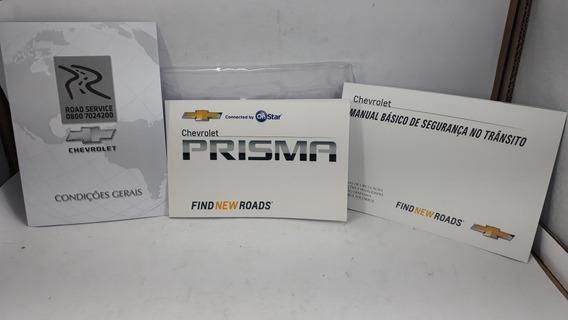 Manual Do Proprietário Completo Prisma 2017/19 Em Branco Gm