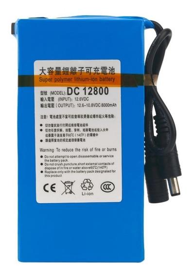 Bateria Recarregável Litio 12v Dc 8000 Mah