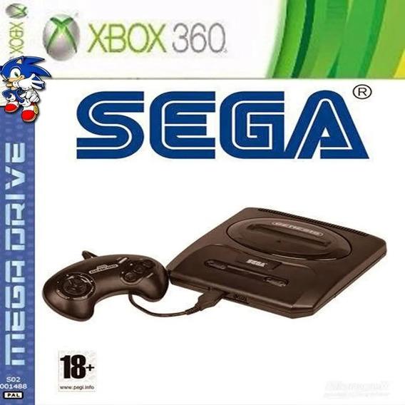 Emulador Mega Drive Sega Para Xbox 360 +brinde