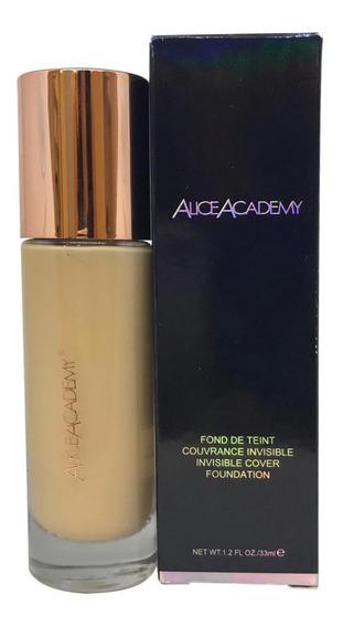Base Alice Academy 33ml - Hd - Efeito Aveludado - 01 Ivory