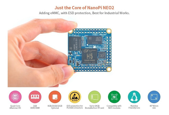 Nanopi Neo Core 2 512mb