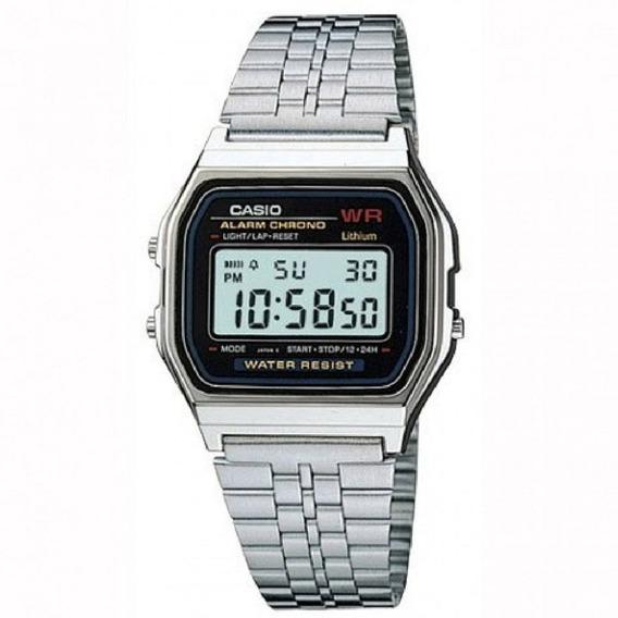 Relógio Casio Original Vintage A159wa-n1df Com Nota Fiscal