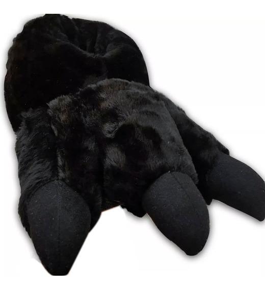 Pantuflas Zanthy Shoes Garras De Oso Negro Con Envio