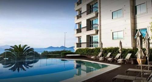 Imagem 1 de 17 de Apartamento Alto Padrão Na Beira Mar Norte - Ap4964