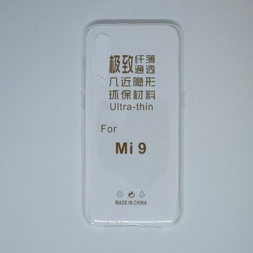 Imagen 1 de 2 de Funda Tpu Transparente Para Xiaomi Mi 9 O Mi 9 Se