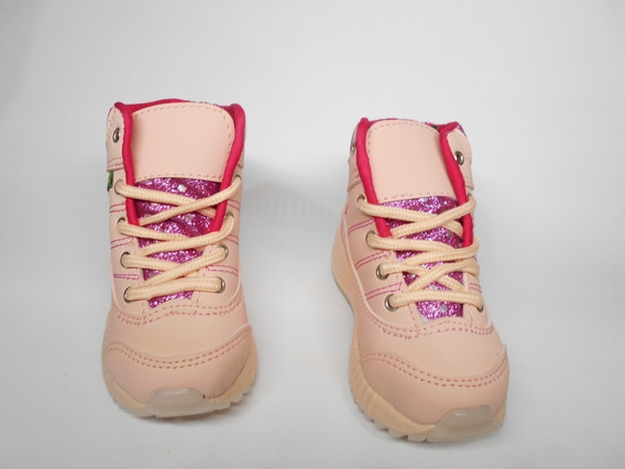 Zapato Bota Niñas Tallas 21-26 Fabricacion Colombiana