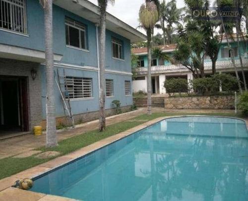 Sobrado Com 5 Dormitórios À Venda, 647 M² Por R$ 3.400.000,00 - Moema - São Paulo/sp - So0348