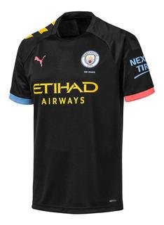 Camiseta De Futbol Puma Manchester City Away Hombre Ng/am
