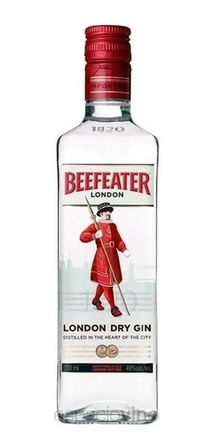 Imagen 1 de 2 de Gin Beefeater - London Dry Gin - 700cc