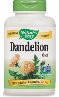 Dente De Leão 525mg (dandelion) - 180 Caps - Pronta Entrega