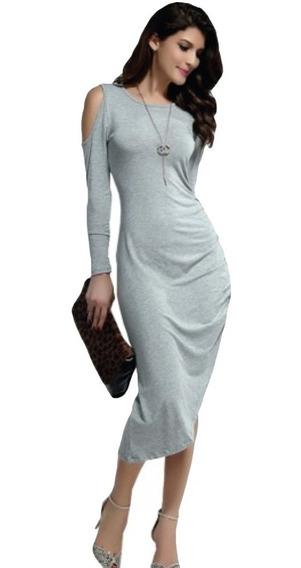 Vestido Algodón Stretch Asimétrico Blusa Falda Fiestas 5123