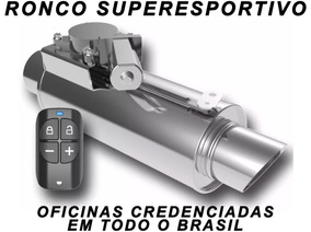 Abafador Esportivo Eletrônico Filtro De Ar Jetta