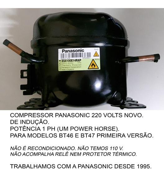 Compressor Geladeira Panasonic Bt46 Bt47ad, 220 Volts, Novo