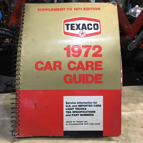 Catalogo Guia Texaco De Lubrificação De 1972 Ñ Album 914