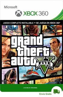 Grand Theft Auto V Gta 5 Xbox 360 Digital Original