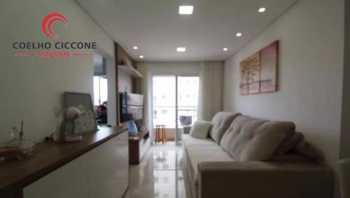 Imagem 1 de 15 de Apartamento Para Venda No Bairro Osvaldo Cruz - V-4733