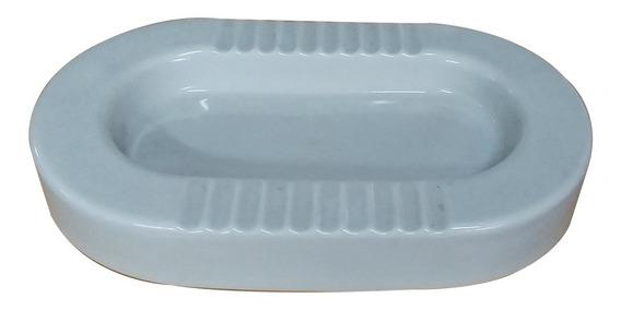 Cenicero Ovalado De Porcelana Grande