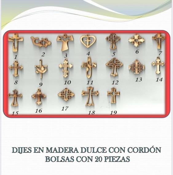 Cruz Dejes Madera Linea Econmica Con Cardon, Tarjeta Y Bols