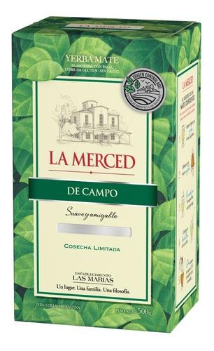 Yerba Mate La Merced De Campo Oc 1/2 Kg.