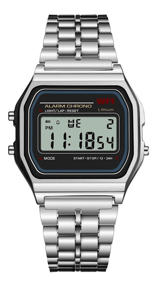 Relógio Led Digital - Rélogio De Pulso - Casio