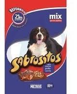Imagen 1 de 2 de Sabrositos Mix Carne Perro 20 Kg +2 Kg Con Pate Y Snacks