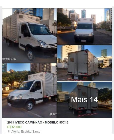 Caminhão Iveco 55c16 - Ano 2011 - Com Baú!