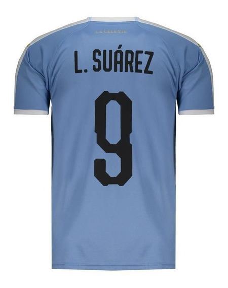 Camisa Puma Uruguai Home 2019 9 L. Suarez