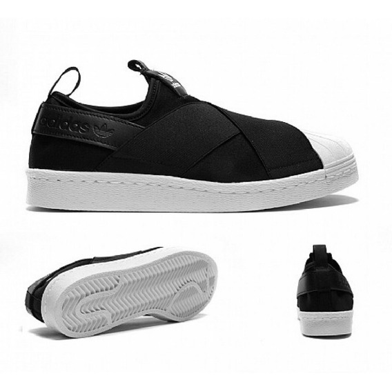 Tenis adidas Slip On Preto Unissex Original