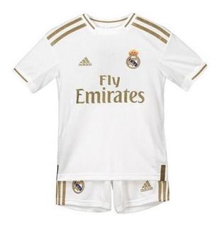 Kit Infantil Real Madrid 2020 - Modric, Isco, Vini Jr, Ramos
