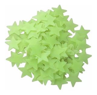 Paquete De 300 Estrellas Fluorescentes Fosforecentes