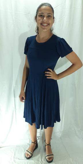 Vestido Feminino Médio Casual Moda Evangélica Tam\ Gg ,exg