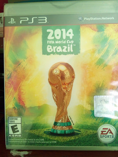 Fifa World Cup 2014 Brazil. Ps3 . Sellado. Metro Las Rejas