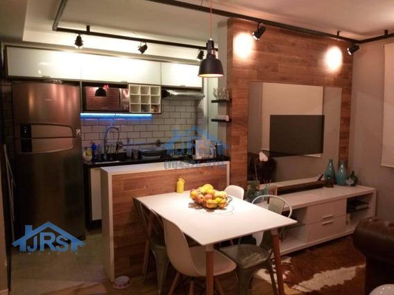 Condomínio Flex 4 Vaga Somente Para Moto E Sem Sacada Com 2 Dormitórios À Venda, 46 M² Por R$ 180.000 - Vila Da Oportunidade - Carapicuíba/sp - Ap2725