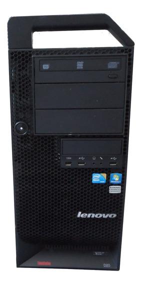 Servidor Lenovo Torre D20 Processador Xeon 12gb 2tb