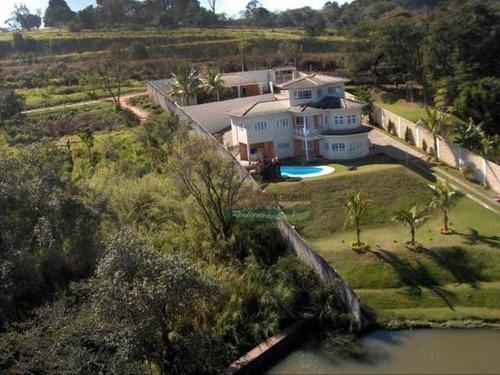 Imagem 1 de 6 de Chácara Com 5 Dormitórios À Venda, 1500 M² Por R$ 2.550.000 - Parque Da Represa - Atibaia/sp - Ch0511