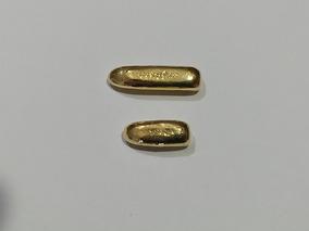 Barra De Ouro Amarelo 18 K 750 Confecção Alianças 7 Gr