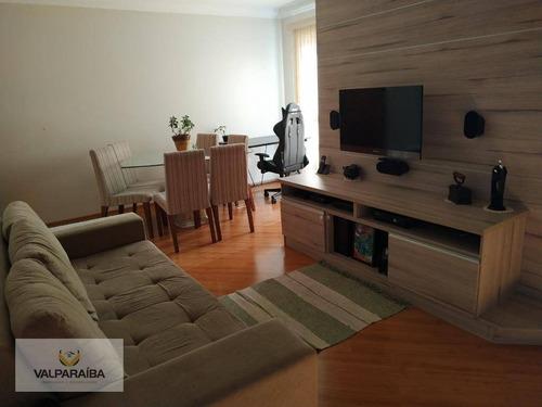Apartamento À Venda, 72 M² Por R$ 310.000,00 - Parque Industrial - São José Dos Campos/sp - Ap0755