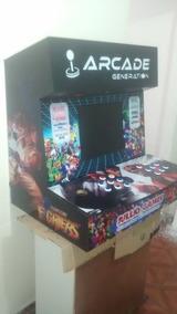 Mini Fliperama Arcade Bartop Multijogos Personalizado