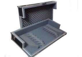 Case P/ 02 Cdj 800/850/900/1000 + 01 Mixer 4 Canais + Rodas