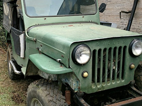 Jeep Willys 1952 4cc