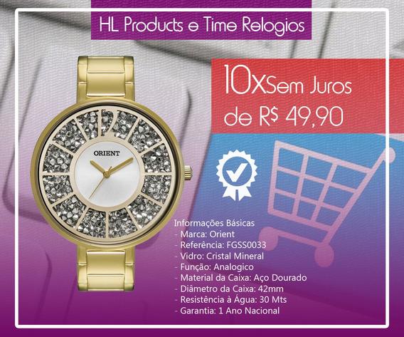 Relógio Orient Feminino Fgss0033
